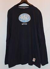 Marc Ecko Unlimited Blue Logo Long Sleeve T-Shirt Men's Size XL X-Large Used