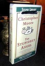 The Stupidest Angel Heartwarming Tale of Christmas by Moore Unabridged Cassettes