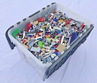 Lego Bundle 1kg Mixed Bricks Parts Pieces Job Lot ⭐️2 minifigures + accessories⭐