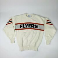 NWOT VTG Deadstock NHL Philadelphia Flyers Cliff Engle Adult Large Sweater