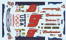 #9 Kasey Kane  Team USA 2010 1/25th - 1/24th Scale Waterslide Decals
