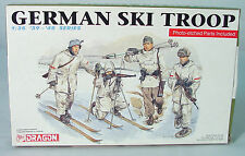 1/35~  German Ski Troops~  39-45 Series~DRAGON Infantry Model