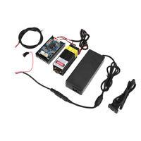450nm 15W Laser Module W/ Heatsink Fan Support TTL/PWM for DIY Laser Engraver P