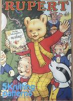 KNITTING PATTERN Book Rupert The Bear 5 Jumper Design Intarsia Gary Kennedy 1988