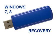 Recovery usb MS Microsoft Windows 8 7 10