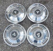 "13"" 1967 68 Dodge Dart 7 space type Hubcaps Wheel Covers"
