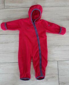 JAKO-O Overall Polartec, Gr. 68/74 pink