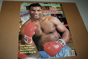 HEAVYWEIGHT CHAMPION MIKE TYSON UNSIGNED 11X14 PHOTO SPORTS ILLUSTRATED COVER