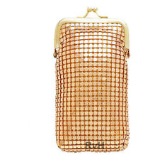 Stephanie's Luxuriant 100s Soft Mesh Cigarette Case (Gold)