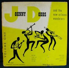 "JOHNNY DODDS+THE NEW ORLEANS WANDERERS~Ragtime Jazz 10"" Album~JOLLY ROGER #5012"