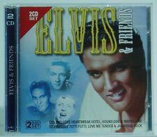 2CD Set Elvis & Friends Eilvis Presley Carl Perkins Bill Haley...Air /mcps