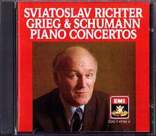 Sviatoslav Richter: Grieg Schumann PIANO CONCERTO emi 1986 CD Lovro von Matacic
