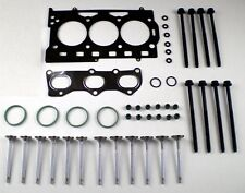 FOR VW POLO SKODA FABIA SEAT IBIZA 1.2 12V HEAD GASKET SET + HEAD BOLTS + VALVES
