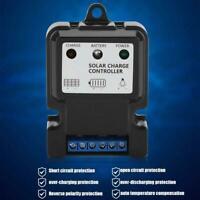3-Stage PWM Solar Panel Charge Discharge Controller Battery Regulator 6V-24V 10A