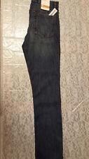 NWT Old Navy Women's Adjustable Waistband Skinny Leg Blue Denim Pants Size 16R