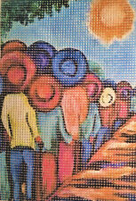 "New ListingNeedlepoint canvas ""Harvest time"" #Pp17"