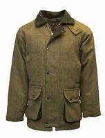 Walker & Hawkes Mens Derby Tweed Shooting Hunting Jacket Coat XXS-5XL Sage