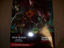 OEJ ~ D&D Miniatures Icons of the Realms Tomb of Annihilation Tomb and Traps Set