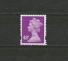 Great Britain Machin 48P 2B NFCP PVA De La Rue  SG Y1724 SG Spec U421 MNH