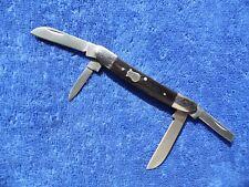 Vintage Pocket Knife Magnum By Boker Buffalo Horn Congress Excellent Knives
