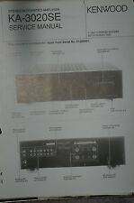Service Manual für Kenwood KA-3020SE