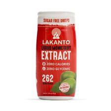 Lakanto Sugar Free Monk Fruit Original Liquid Extract Sweetener 52 g, Low Carb