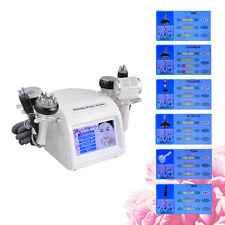 8-1 40K Cavitation Vacuum Tripolar RF Cellulite Skin Firm Body Slim Machine USPS
