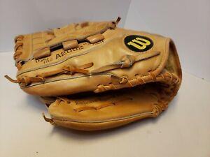 WILSON  The A2002 XLW  Dual Welting LEFT Hand Throw Baseball Glove