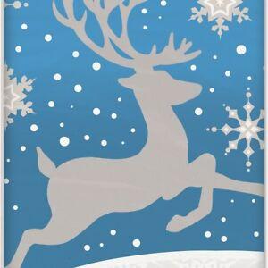 Reindeer & Snowflake Christmas Party Supplies Tableware, Balloon, Decorations