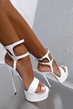 n 43 EU Sandals scarpe donna big size 1969 high heels pumps CD Drag Crossdresser