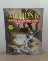 Murder A La Carte Mystery Dinner Party Game The Brie The Bullet & The Black Cat