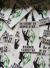 """100 Fußball Ultra Aufkleber """"Anti Werder Bremen"""""""