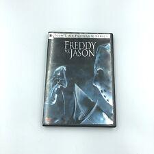 Freddy vs. Jason (Dvd, 2004, Platinum Series) 2-Disc Set