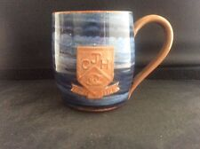 Vintage Handthrown Studio Mug by Wold Pottery Routh Beverley Yorkshire CJH 1879