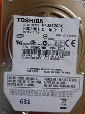 320gb Toshiba mk3252gsx hdd2h01 C wl01 T | lv010a #631