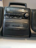 Vintage ALARON AM/FM Radio Stereo Cassette Player Model RY1508 Works 100% EUC