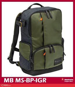 Manfrotto Street Medium Multi-functional Backpack Mfr # MB MS-BP-IGR