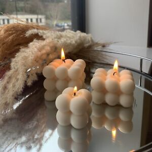 Big, Medium And Baby Bubble Soy Wax Candle