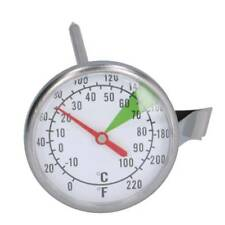 Espresso Machine Milk Thermometer with clip for jug. Sold by Coffee-A-Roma!