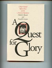 A QUEST FOR GLORY : Major Gen Robert Howe & the American Revolution  HBdj  VG