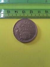 1957 * 58 España 50 PESETAS. cobre-níquel cincuenta pesetas españolas. una grande libre.