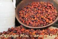 ORANGE MIX Primitive Pumpkin / Putka Pods,  2 oz. = 2 1/2 Cups Crafts, Fall