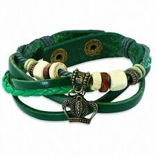 Bracelet Multi-Rangée Beads of Wood Bali, with Pearl Wood Royal Princes