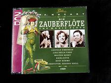 WA Mozart MAGIC FLUTE Lisa Della Casa Leopold Simoneau Walter Berry George Szell