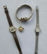 LOT Vintage Watches Seiko Wind Up Sergio Valente Longines Gold Filled Working NR