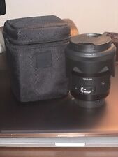 Sigma AF 35mm f/1.4 DG HSM Art For Canon EF Lens With Box And Case