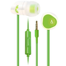 Creative MA200 earphones with Mic for iPhone Android & other devices - Green