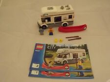 Lego City 60057 Camper Van - Retired Set - 100% Complete - Ex Con