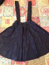 Black Milk Clothing Triangle Black Pinafore Skater Skirt Size XS Blackmilk