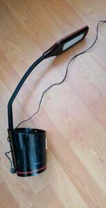 Ottlite LED Light Modern Flexible Lamp & Desk Tidy PL-0109  black